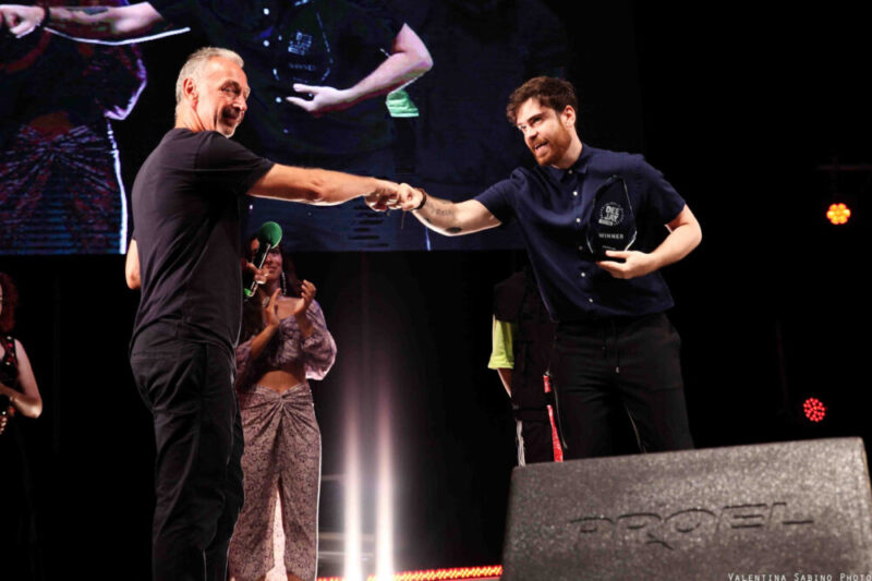 Cristiano Turrini vince il contest Deejay On Stage 2020