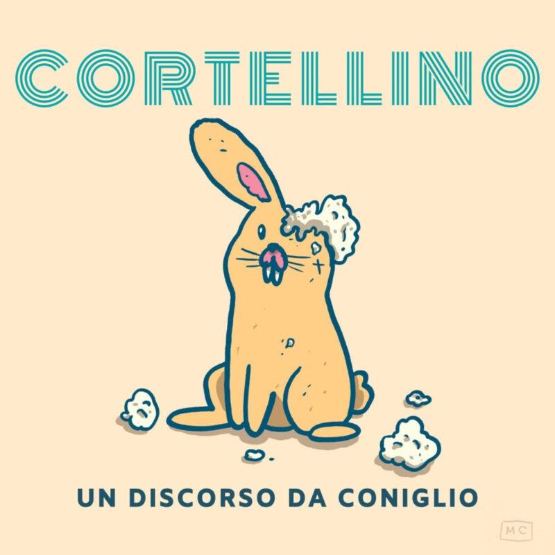 """Cortellino dal 13 nov il singolo """"Un discorso da coniglio"""" per LaPOP"""